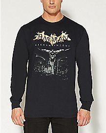 Arkham Knight City Long Sleeve Batman T shirt