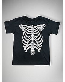 Skeleton Toddler T shirt
