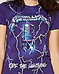 Ride The Lightning Metallica T shirt