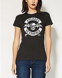 Established 99 Bat Skull Avenged Sevenfold T shirt