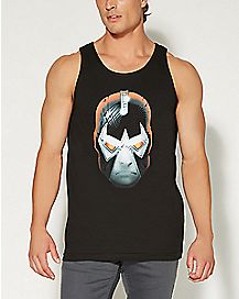 Bane Head Mens Tank Top - DC Comics