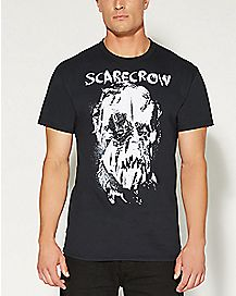 Scarecrow Face Batman T shirt