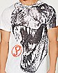 Sublimation T-Rex Jurassic Park T shirt