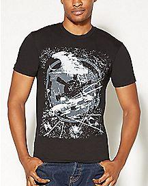 Logo Star Wars Death Star T Shirt