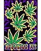 Legalize It Blacklight Poster