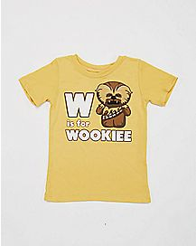 W is For Wookie Toddler T shirt