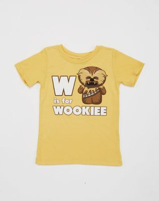 W is for Wookie T-shirt for Toddler