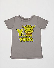 Y is For Yoda Star Wars Toddler T shirt