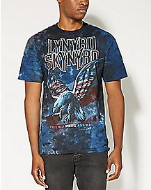 True Red White & Blue Lynyrd Skynard T shirt