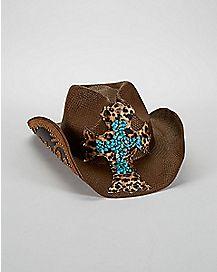 Brown Zeke Drifter Cowboy Hat