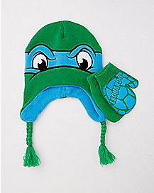 Leonardo TMNT Toddler/Baby Laplander Glove Set