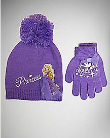 Disney Princess Rapunzel Baby/Toddler Hat Gloves