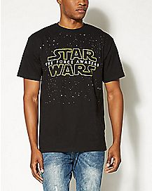 Logo The Force Awakens Star Wars T shirt