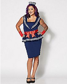 Amy Sailor Plus Size Costume