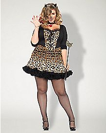 Wild Cat Plus Size Costume