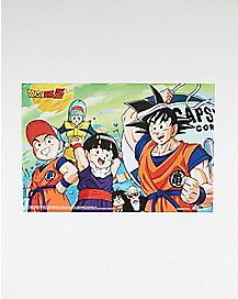 Character Dragonball Z Poster