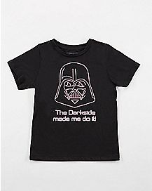 The Dark Side Star Was Toddler T shirt