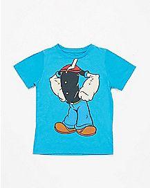 Popeye Body Toddler T shirt