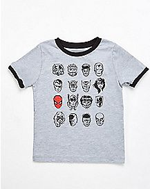 Character Heads Marvel Toddler T shirt