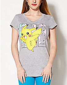 Pikachu Boxes Pokemon T shirt