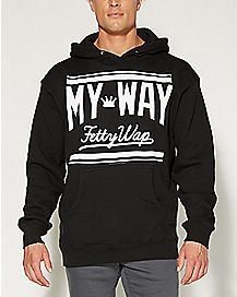 My Way Fetty Wap Hooded Sweatshirt
