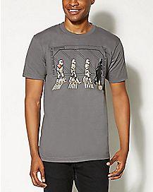 Road Death Star Star Wars T shirt