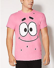 Patrick Face Spongebob T shirt