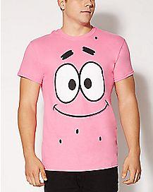Patrick Face Spongebob T shirt