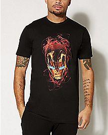 Smoky Mask Iron Man T shirt