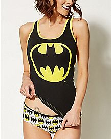Batman DC Comics Tank and Panty Set