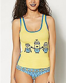 Minions Despicable Me Tank and Panties Set