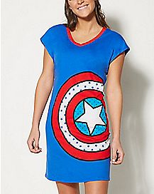 Captain America Sleep Shirt