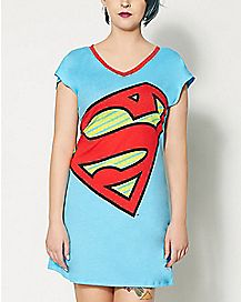 Supergirl Boyfriend Sleep Shirt