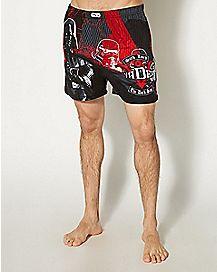 Knit Darth Vader Star Wars Boxers