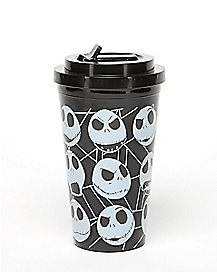 Nightmare Before Christmas Cup & Flip Up Straw - 16 oz.