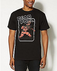 Deadpool Wanted T Shirt - Marvel Comics