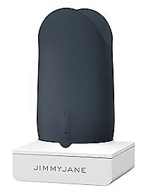 Jimmyjane Form 5 Rechargeable Waterproof Vibrator - 3.5 Inch Slate