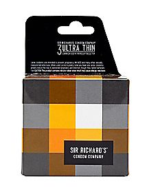 Sir Richard's Ultra Thin Condoms 3 Pack