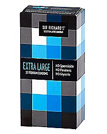 Sir Richard's Extra Large Condoms 12 Pack