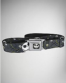 Jack Face Nightmare Before Christmas Seatbelt Belt