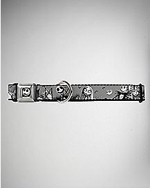 Jack & Sally Nightmare Before Christmas Dog Collar
