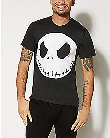 Nightmare Before Christmas Jack Head T shirt