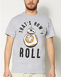 That's How I Roll BB-8 Star Wars T shirt