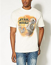 Droid Star Wars The Force Awakens T shirt