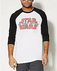 Star Wars The Force Awakens Logo Tee