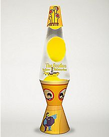 Yellow Submarine The Beatles Lava Lamp - 14.5