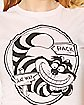 Cheshire Cat That Way Alice in Wonderland T shirt