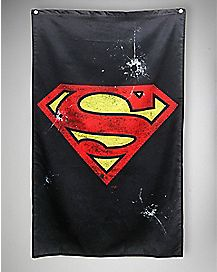 Gunshot Superman Wall Banner- 30 x 50