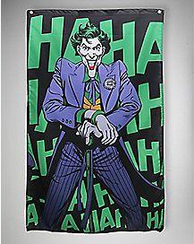Batman The Joker Haha Wall Banner