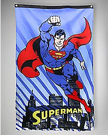 Superman Wall Banner 30 x 50 - DC Comics